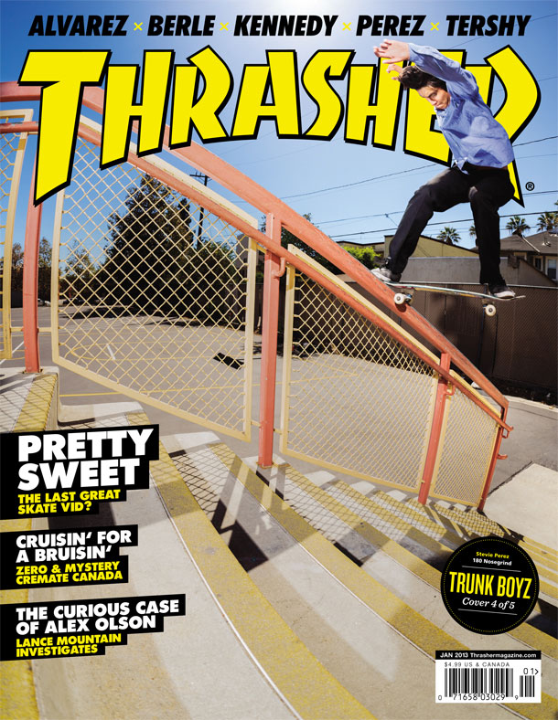 Skate magazine photos