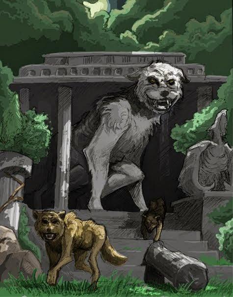 loup garou géant