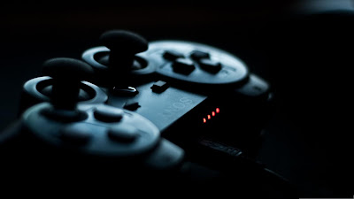 Sony PS3 Controller Joystick Close Up Photography HD Desktop Wallpaper