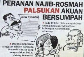 Najib Rosmah Altantuya Nazim Deepak