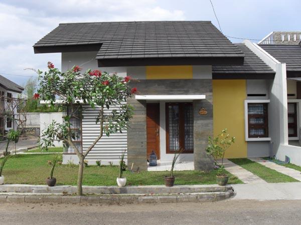 ide contoh desain dan denah rumah minimalis type 60 1 dan