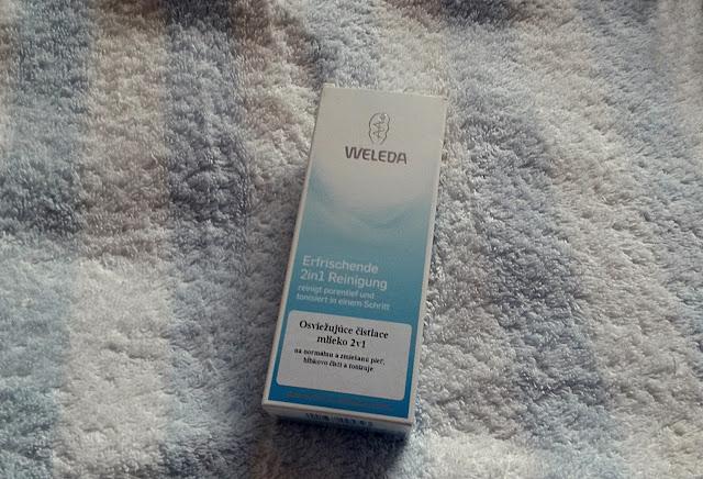 Weleda- Osviežujúce pletové mlieko 2 v 1