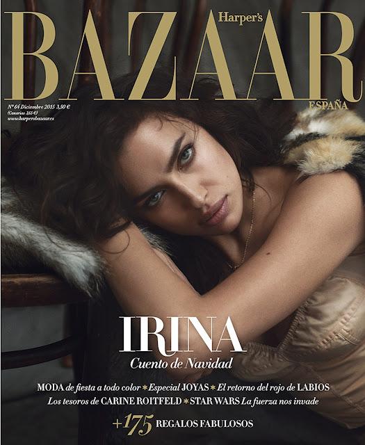 Fashion Model @ Irina Shayk By Norman Jean Roy For Harper'S Bazaar Spain, December 2015