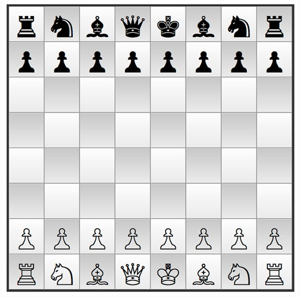 CSS3 Chess Board