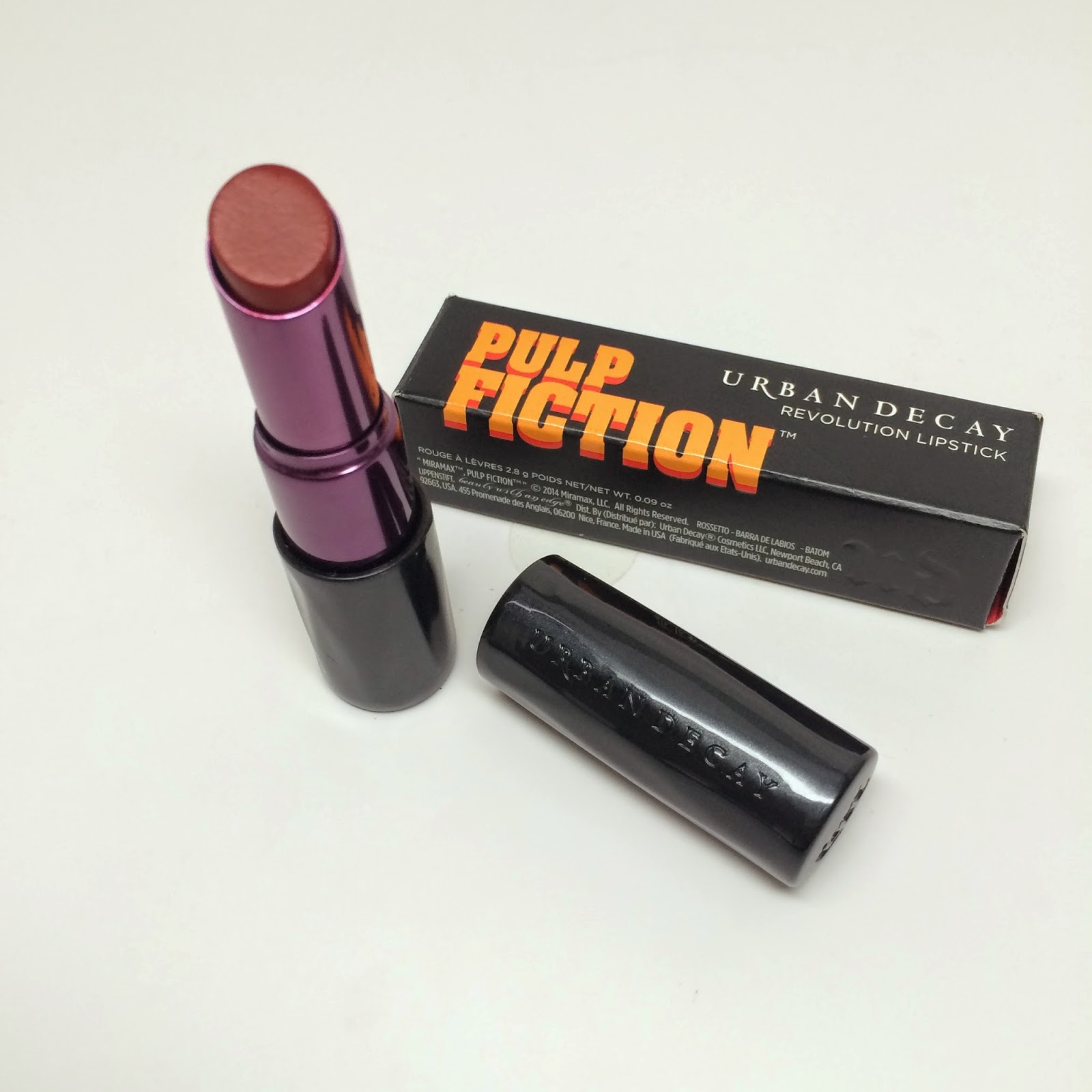Urban Decay Revolution Lipstick 24/7 Glide On Lip Pencil, Pulp Fiction, Mrs Mia Wallace