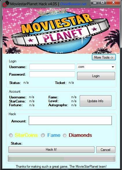Movie Star Planet Money Cheats