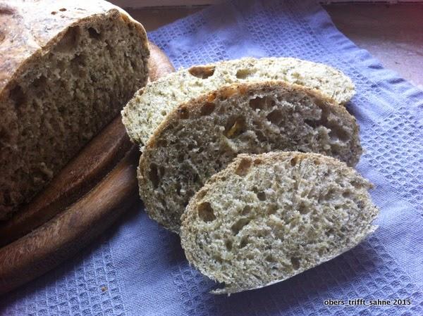 Brot mit Brennnessel