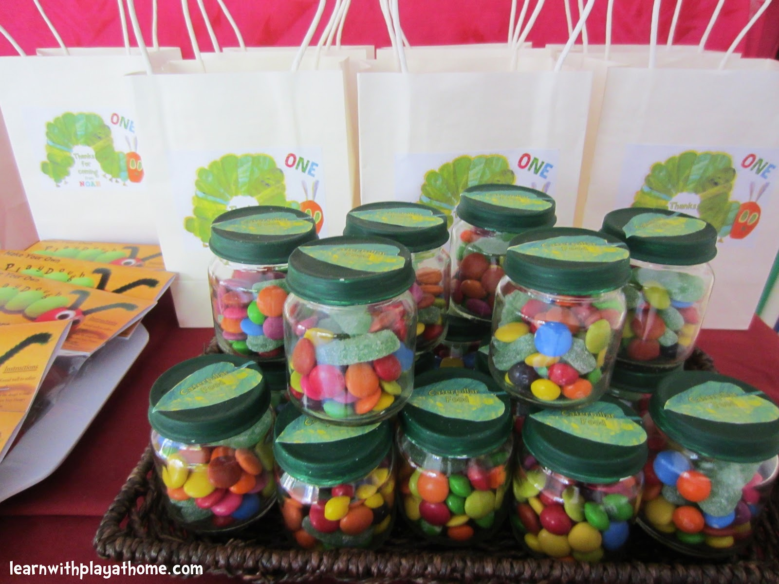 learn with play at home diy party favours