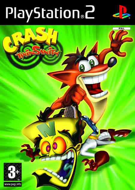 Baixar Jogo Crash Twinsanity   PS2 playstation 2 plataforma ano 2004
