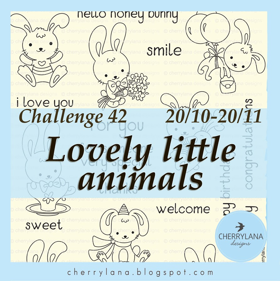 Challenge 42 - Милые зверята до 20/11