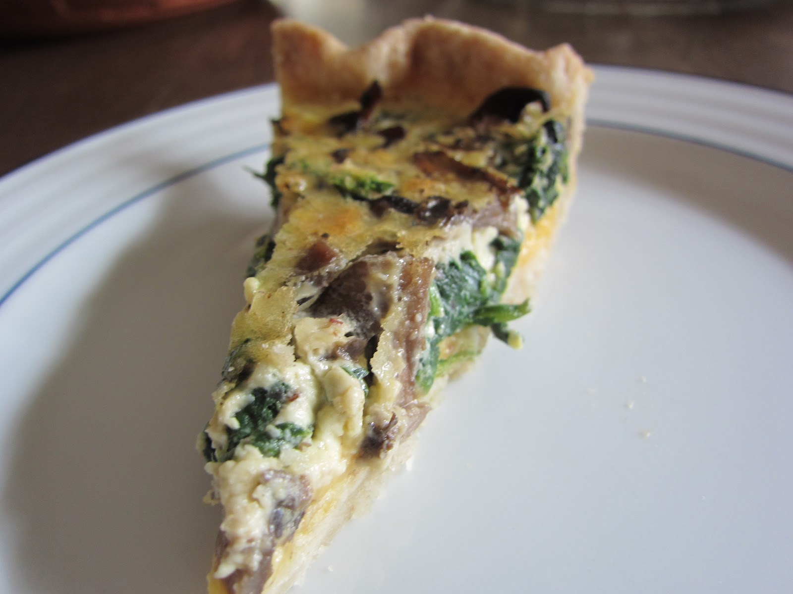 Asparagus And Spinach Quiche Recipe — Dishmaps