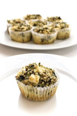 Zelenjavne ajdove tortice brez glutena