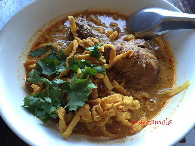 Khao Soi, Thailand Curry Noodle