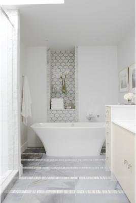 New Sarah Richardson Bath The Tile Shop Design By Kirsty