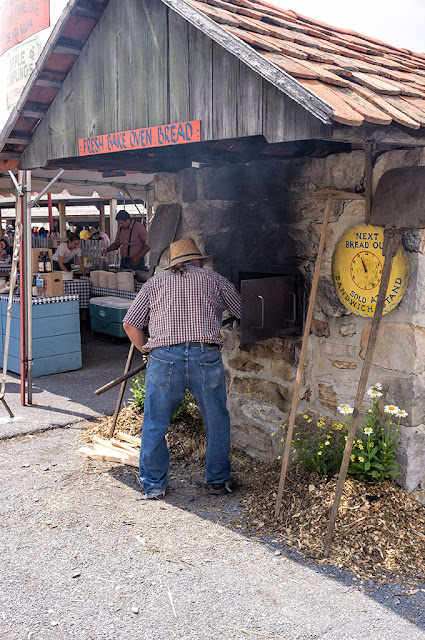 Stone Oven at the Kutztown Folk Festival