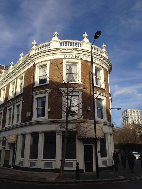 Former pub, the Bramley Arms, Notting Hill, London