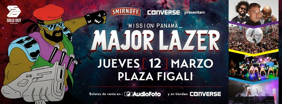 MAJOR LAZER en Panama.