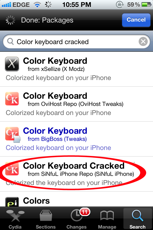 Crack vkbot. who buys cracked ipods.