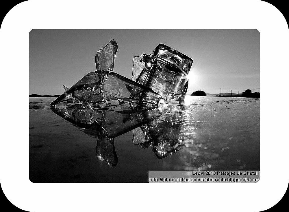 Abstract Photo 3283 Crystal Landscape 178  The fish of the morning - El pez de la mañana