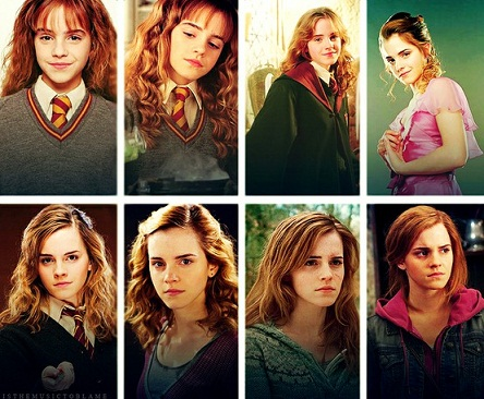 Hogwarts alumni hermione granger evolution - Harry potter movies hermione granger ...
