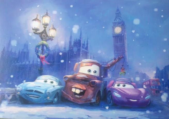 cars 2 navidad