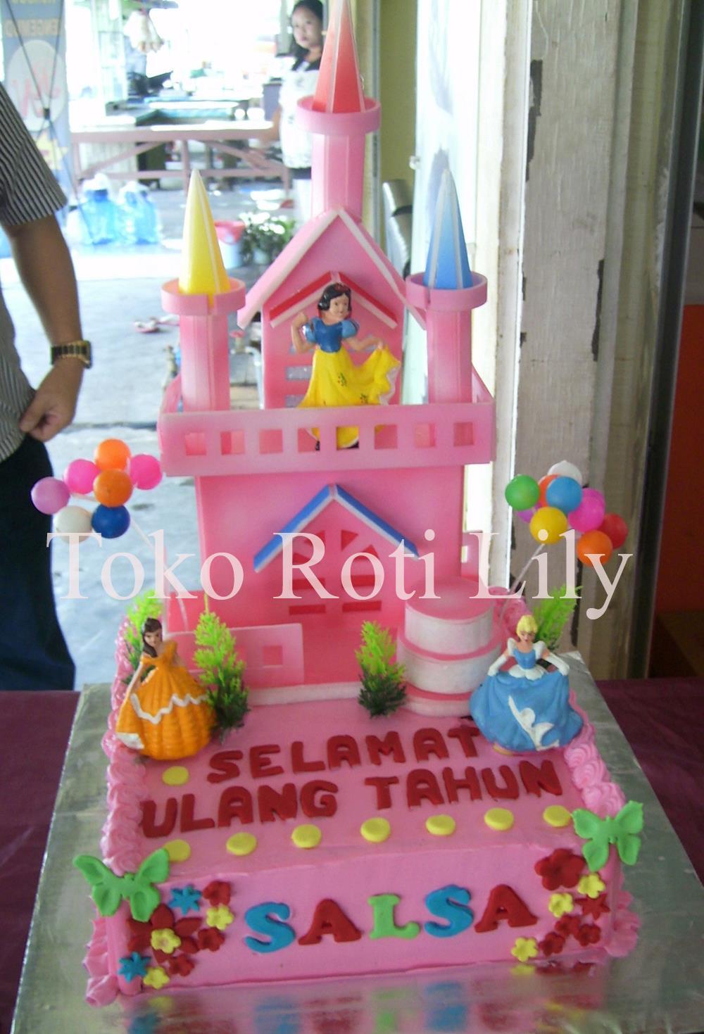 Kue Ultah Untuk Ibu Rinda Di Mangga Dua… Request Bentuk Hati Dan Ada ...