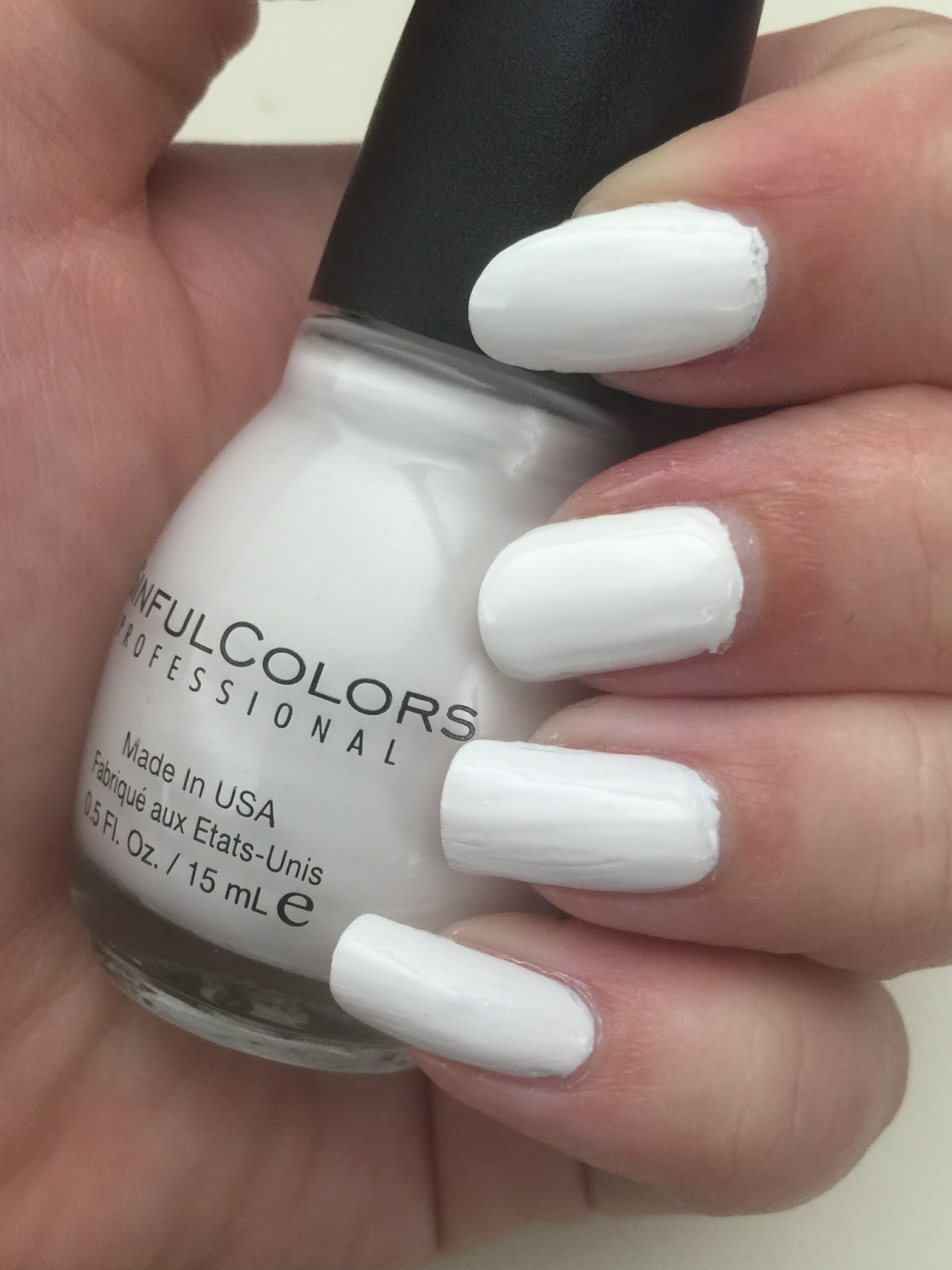 SinfulColors snow me white