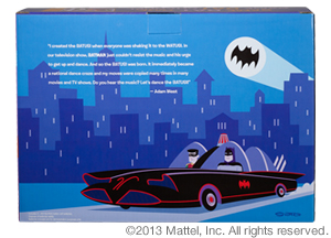"Mattel Comic-Con SDCC 2013 Exclusive Batman 1966 ""Batusi"" Figure Set"