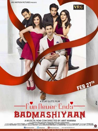 Badmashiyaan (2015) Movie Poster
