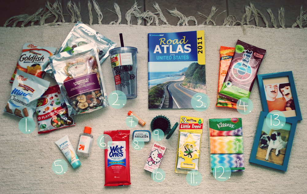 pocketful of pretty: Road Trip Kit & The Golden Gift Giving Rules