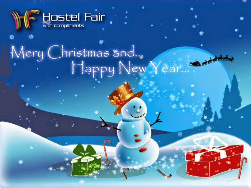 Happy Holidays hostel fair