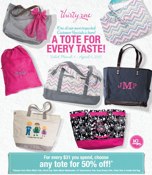 Rose's Thirty One Gifts Blog
