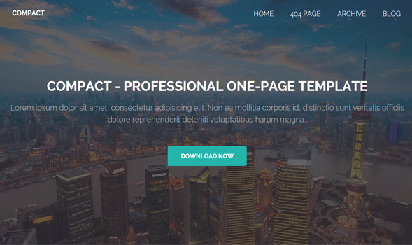 Compact Blogger Template