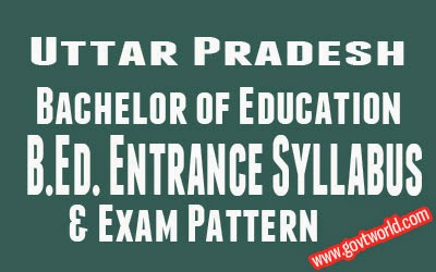 UP Bed Entrance Syllabus 2016 Exam Pattern & Best Books