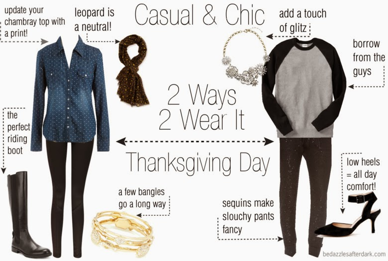 Outfit ideas for Thanksgiving Day