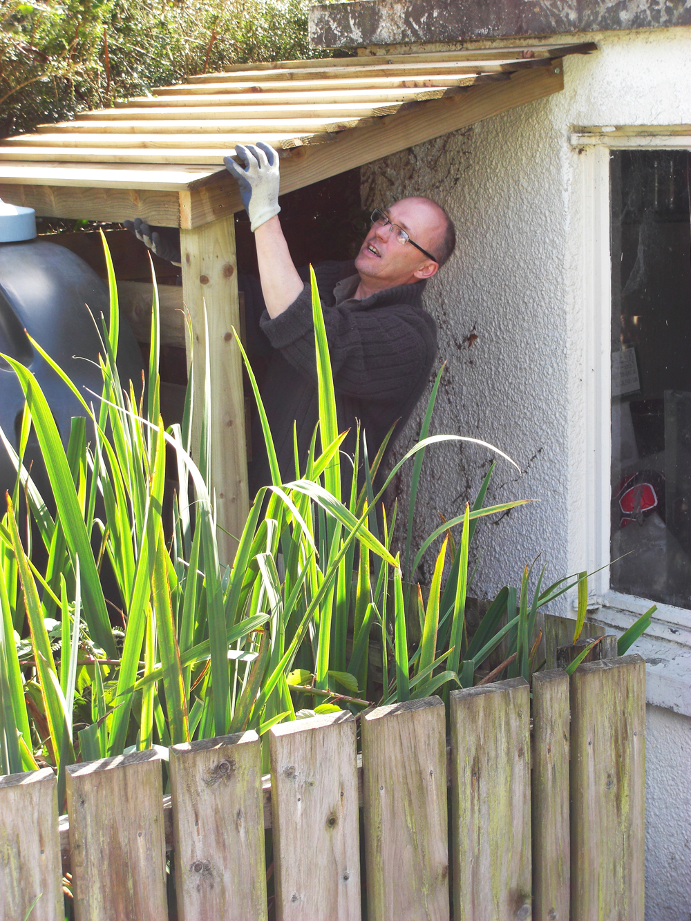 Mig How To Build A Lean To Shed Against A House