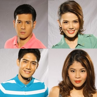 I Dare You S2 hosts - John Prats, Deniesse Aguilar, Melai Cantiveros and Robi Domingo