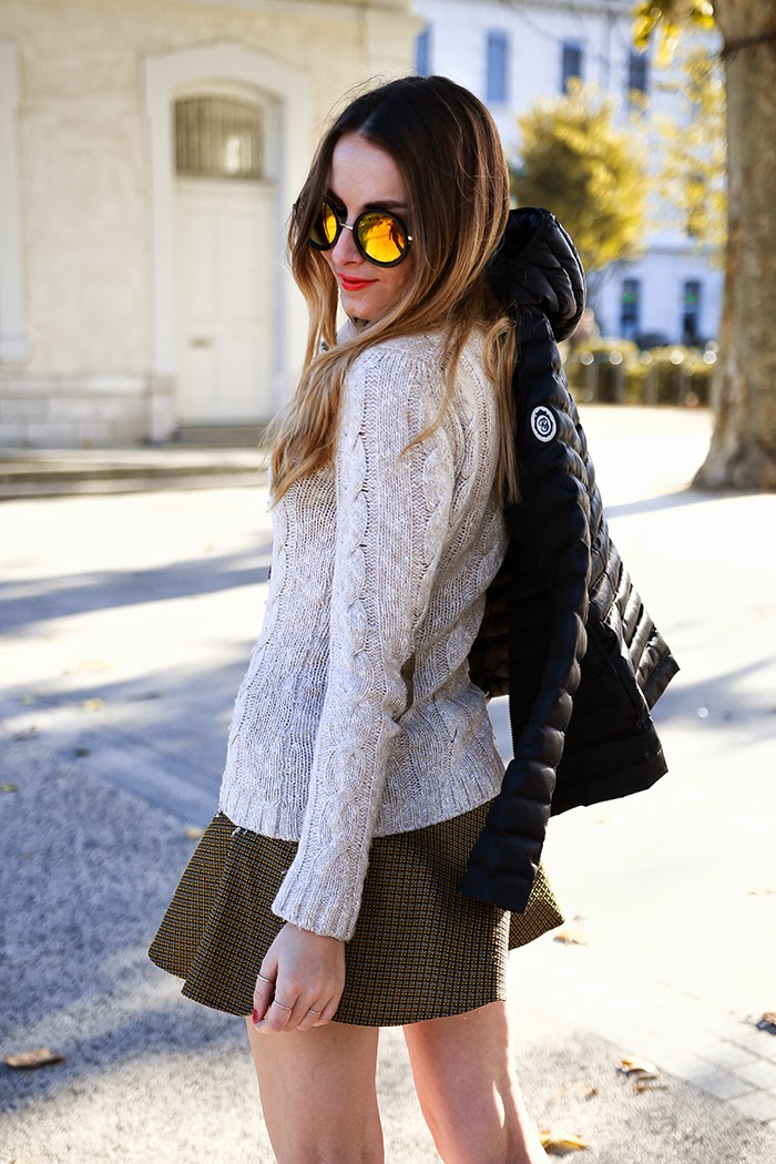 skirt sweater fall