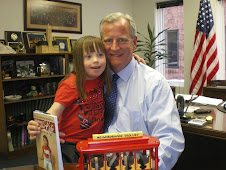Chloe Reads to Her PA State Representative
