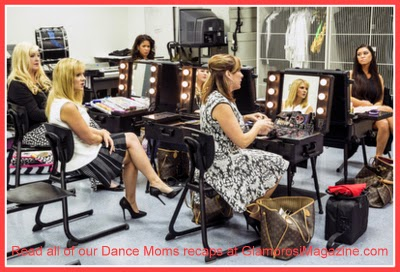 Cast members from the Lifetime show Dance Moms