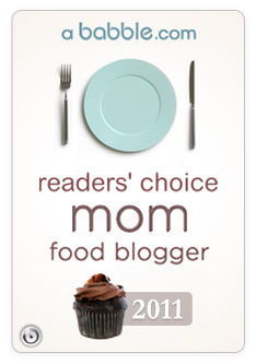 Readers' Choice Mom Food Blogger for 2011
