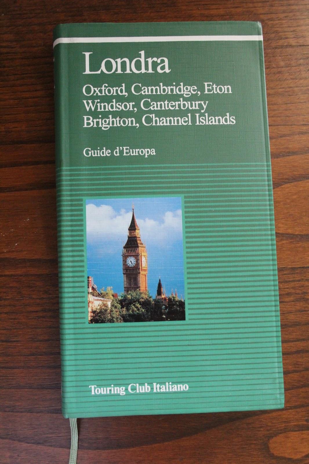 Pomi d 39 ottone una guida per le guide turistiche for Guide turistiche londra
