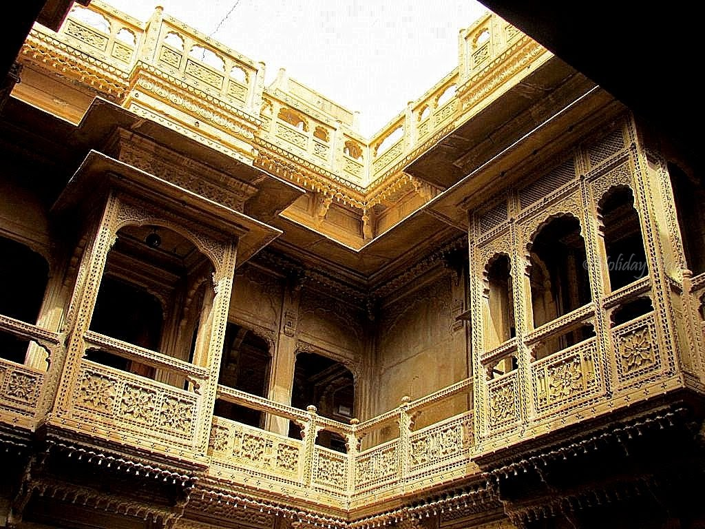 Haveli from inside