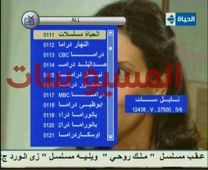 تحميل ملف قنوات عربى رسيفر بركليبس فرجن 4 بتاريخ اليوم 2-2-2015