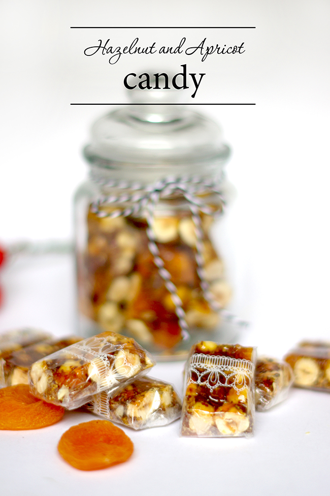 Hazelnut and Apricot Candy recipe {via www.fashionrolla.com}