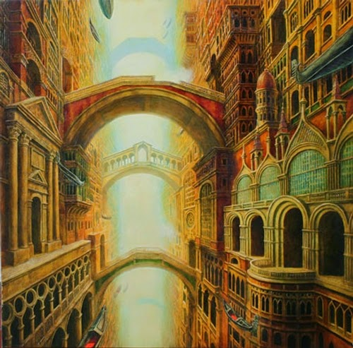 16-Venetian-Fantasy-Marcin-Kołpanowicz-Painting-Architecture-in-Surreal-Worlds-www-designstack-co