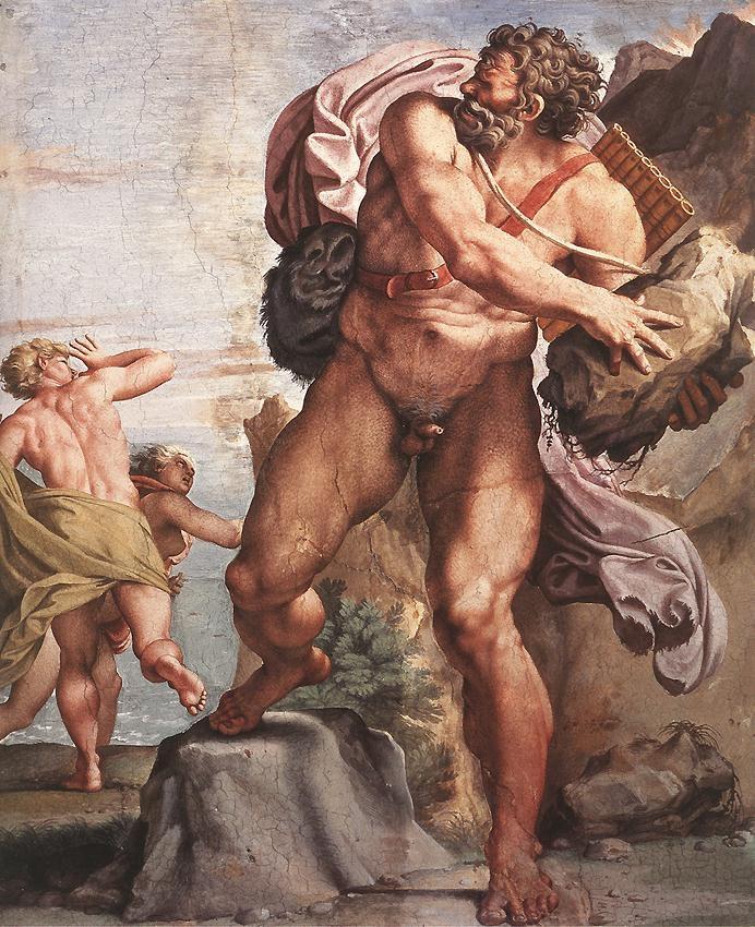 odysseus cyclop carracci