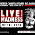 Convocatoria de bandas V LIVE FOR MADNESS METAL FEST