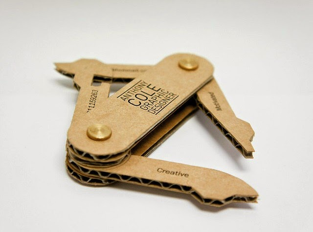 Anthony Cole - swiss army knife business card