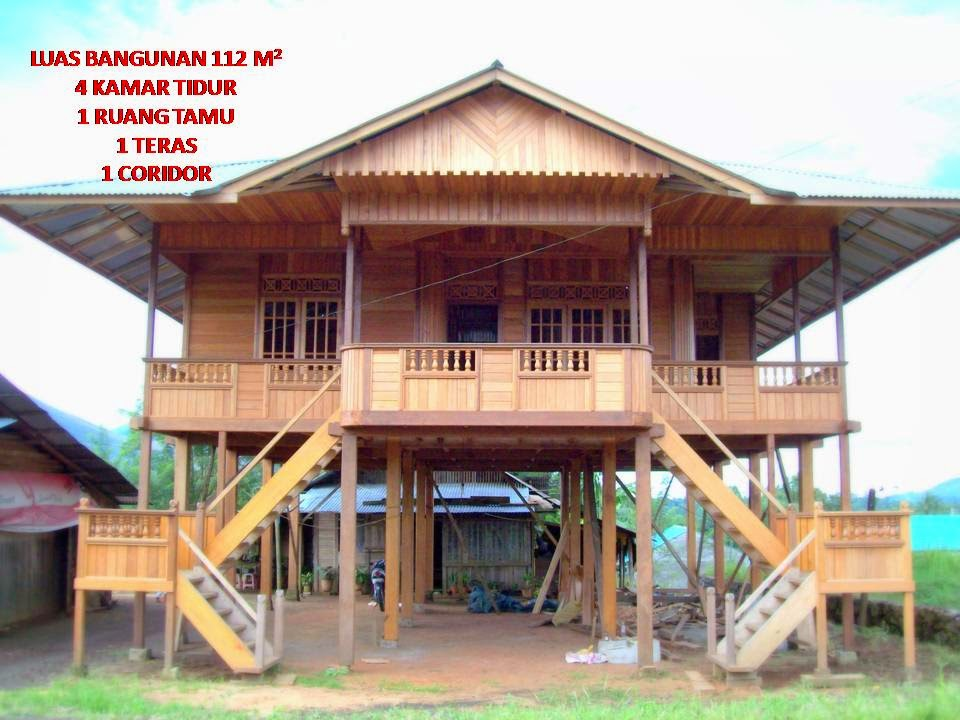 20 contoh rumah kayu contoh rumah minimalis